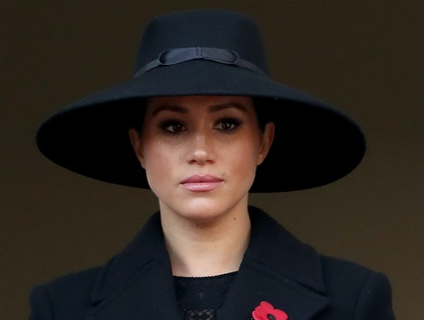 Meghan Markle's Remembrance Day coat was from Stella McCartney.