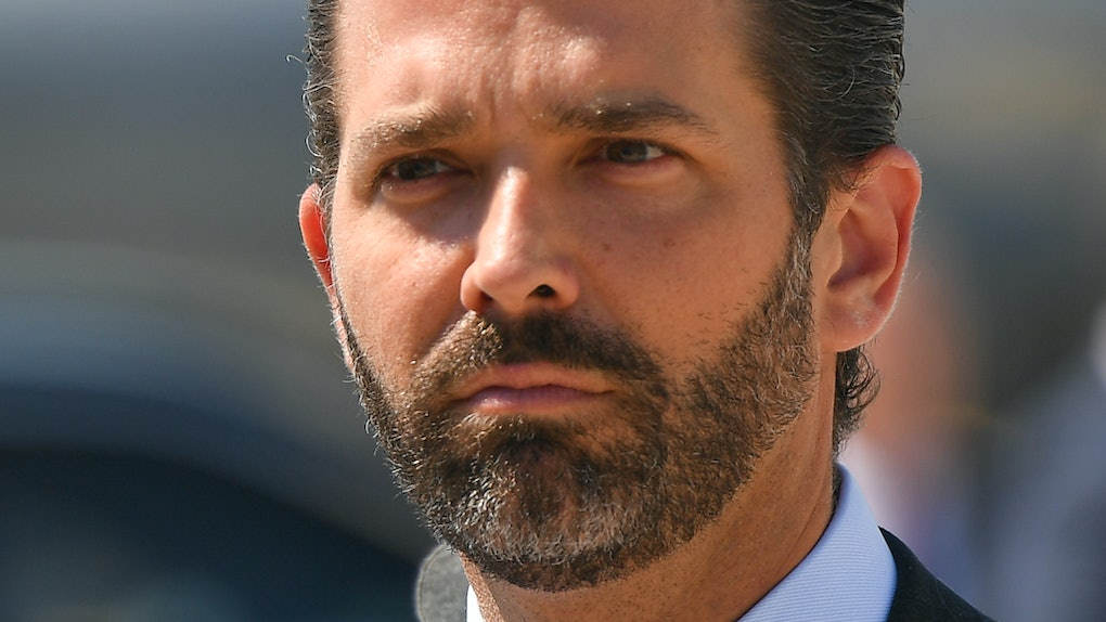 Donald Trump Jr was booed offstage at UCLA