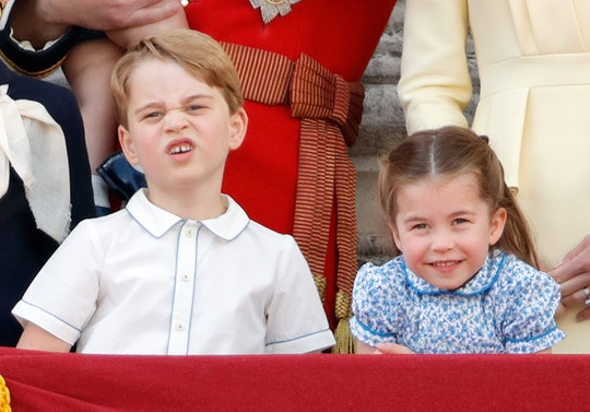 Prince George and Princess Charlotte fight just like your kids.