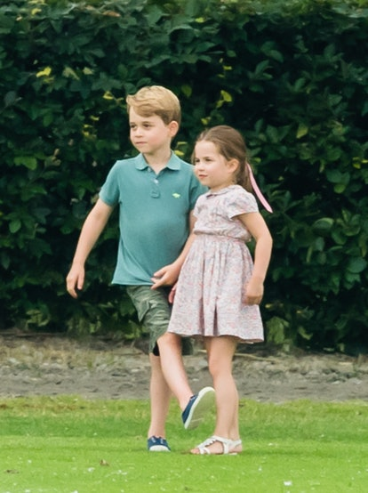 Prince George and Princess Charlotte apparently fight sometimes, much to the relief of parents everywhere.