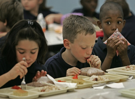 A number of concerned citizens and parents are rallying to save free school lunch access and stop the U.S. Department of Agriculture (USDA) from implementing a new proposed rule.