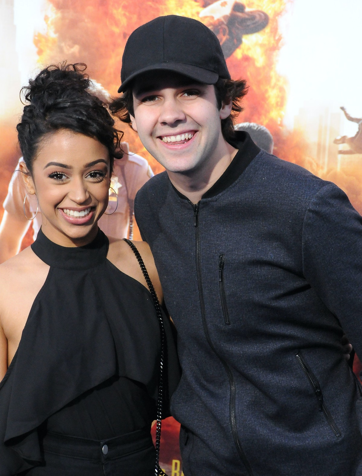 David Dobrik and Liza Koshy back when they still made some of the funniest videos on YouTube