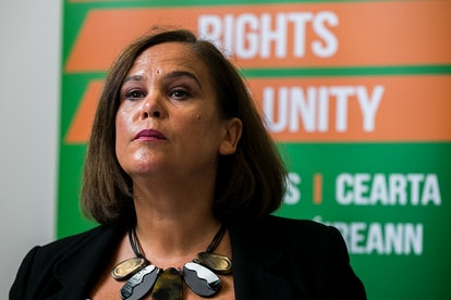 Sinn Fein head Mary Lou McDonald wants to remain in the EU
