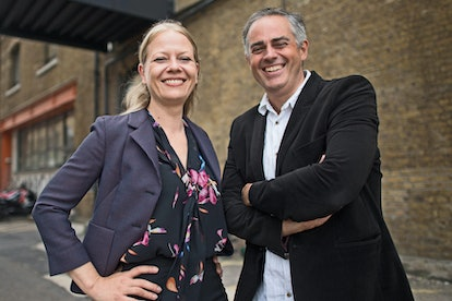 Green Party co-leaders Jonathan Bartley and Sian Berry don't yet have an official voting record