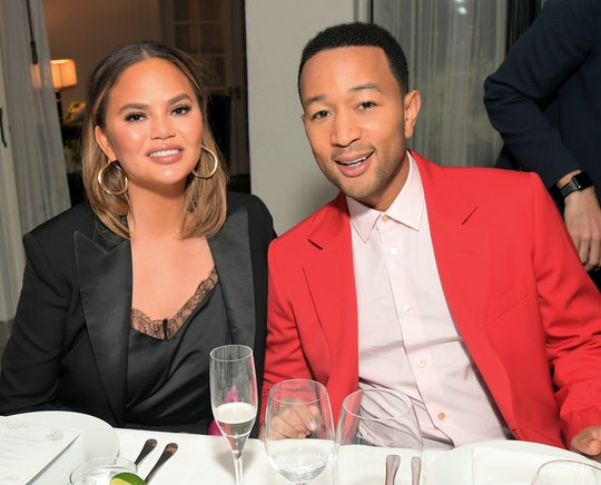 """Chrissy Teigen is really excited that her husband John Legend was named People's """"Sexiest Man Alive"""""""