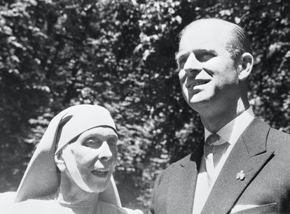 Prince Philip and his mother, Princess Alice.