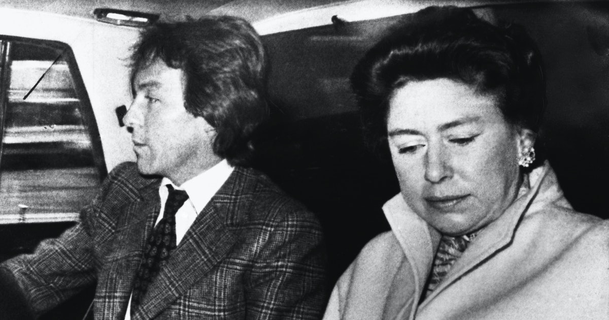 Princess Margaret & Roddy Llewellyn's Relationship Led To A Public Scandal