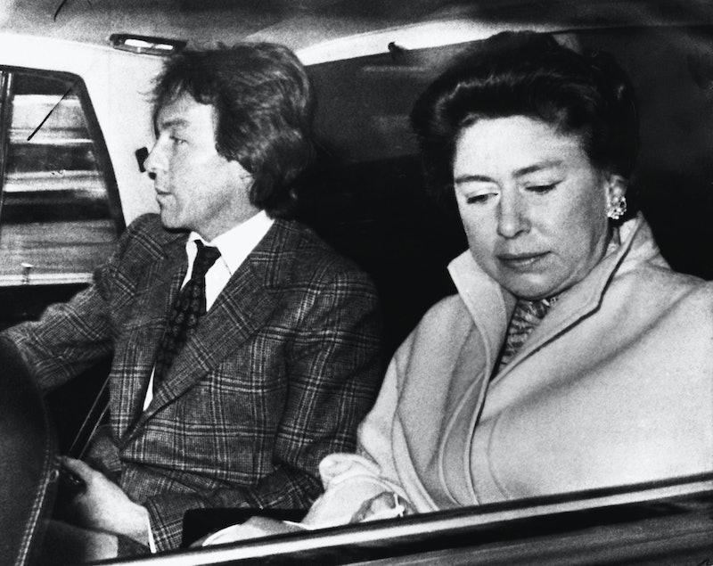 Princess Margaret and Roddy Llewellyn.