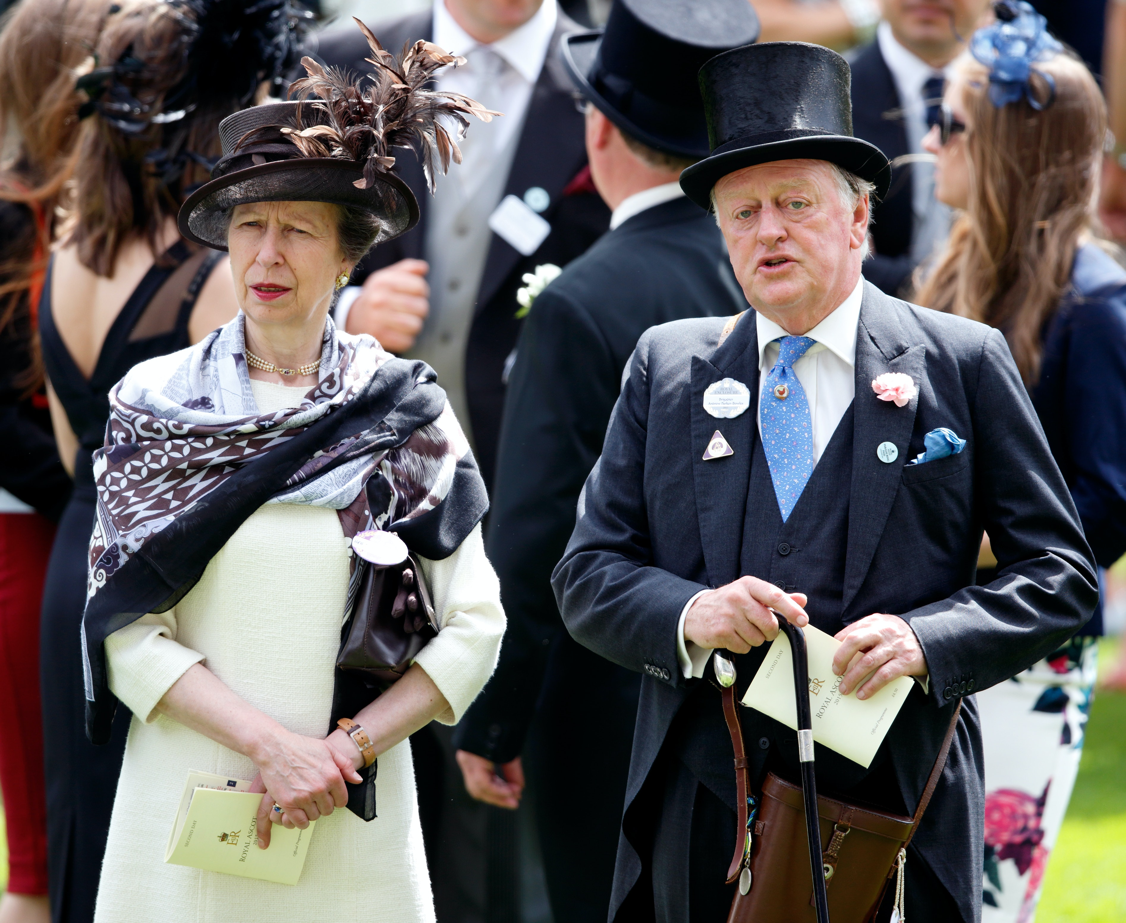 Andrew Parker Bowles & Princess Anne's Relationship Was Part Of A ...