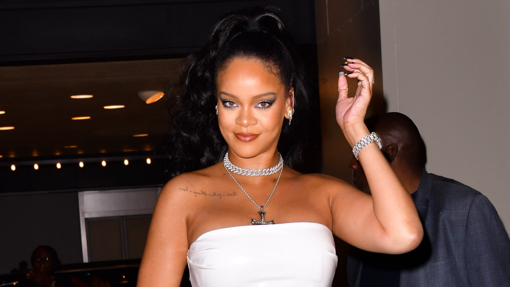 Rihanna's Reaction To A Friend Asking About New Music Will Make You Laugh.