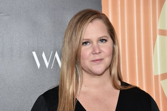 Amy Schumer revealed that her six month old son has started eating solid foods.