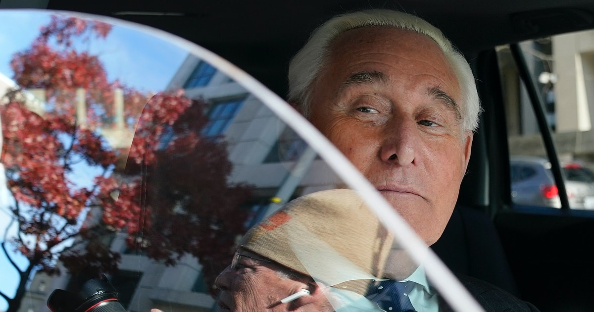 Longtime Trump ally Roger Stone convicted on seven Russia-related counts