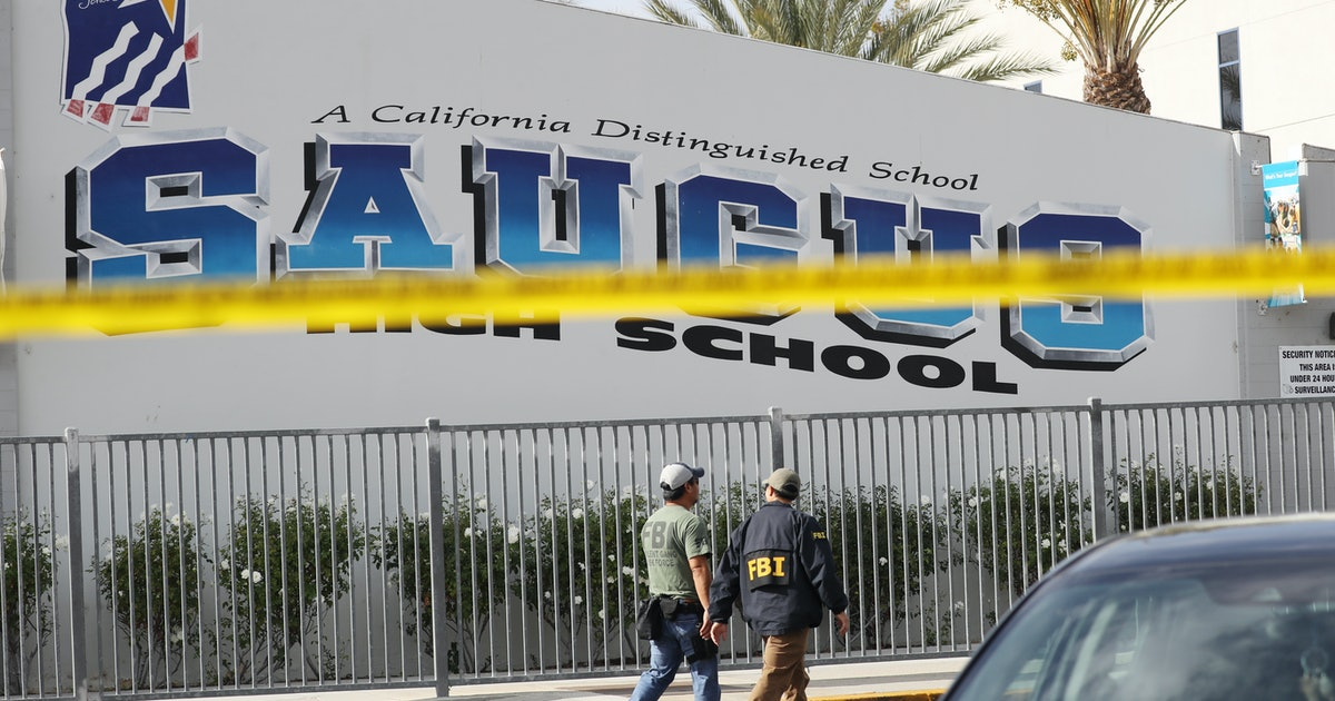 Senator Learns Of California School Shooting While Giving Speech On Gun Violence