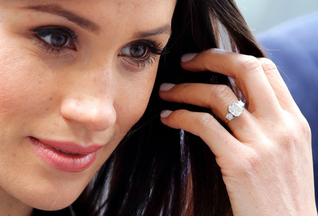 Meghan Markle's engagement ring includes diamonds from Princess Diana's collection