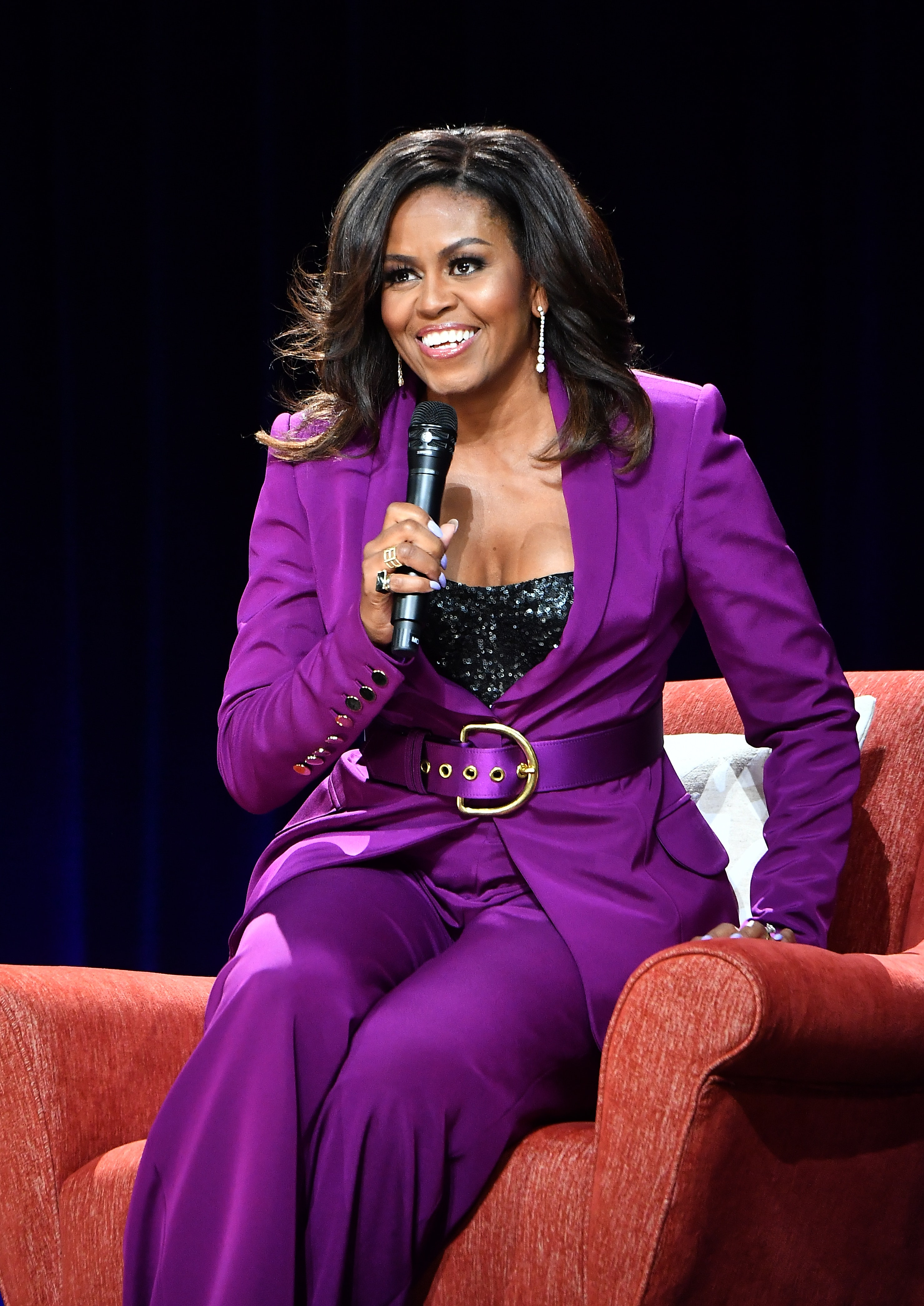 Michelle Obama's 2019 American Portrait Gala Look Featured ...iaparelli Gown Designed Around Fall 2019's Canary Yellow Trend