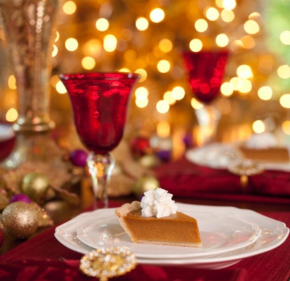 Experts say sweet wines and pumpkin pie are a great Thanksgiving pairing.
