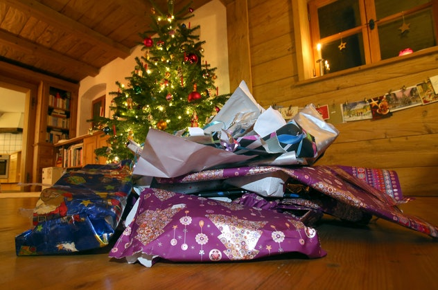 Opting against using wrapping paper can help reduce environmental waste this holiday season.