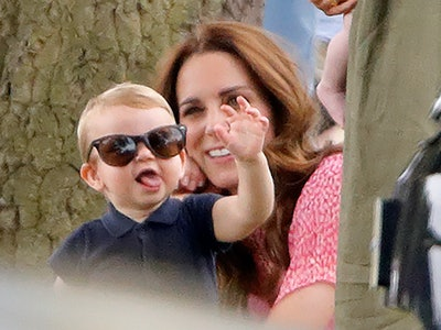 Kate Middleton and Prince Louis go to a weekly playgroup