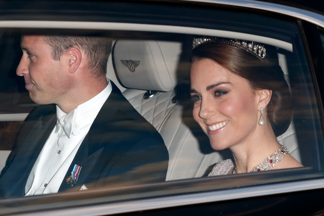 Middleton wore one of Princess Diana's favorite tiaras — the Queen Mary's Lover's Knot