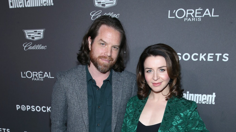 Grey's Anatomy's Caterina Scorsone is pregnant with her third child with husband Rob Giles.
