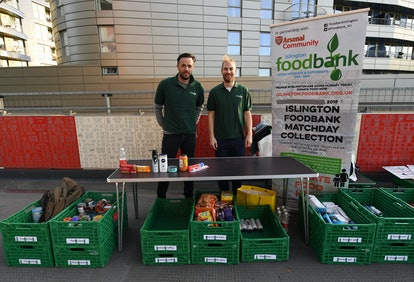 Food banks accept all different types of donations during the holiday season.