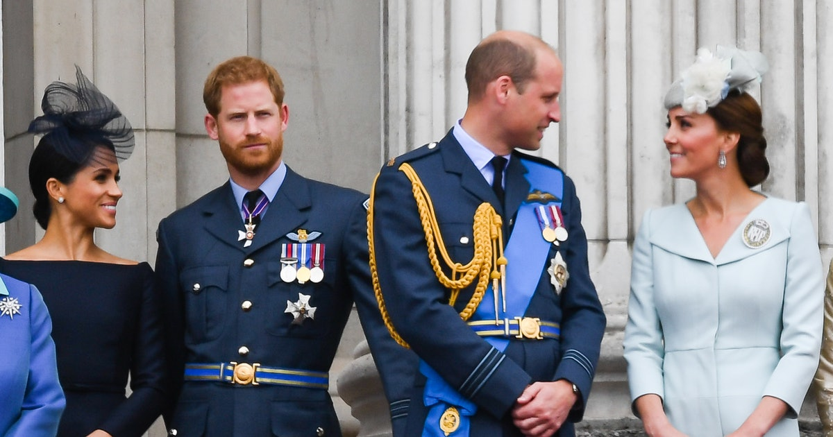 Here's Why Meghan, Harry, William, & Kate's Reported Distance Isn't A Big Deal