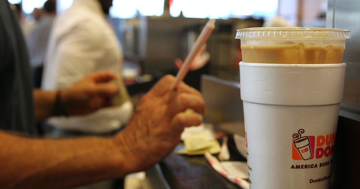 Dunkin' Foam Cups Will Leave Stores Soon