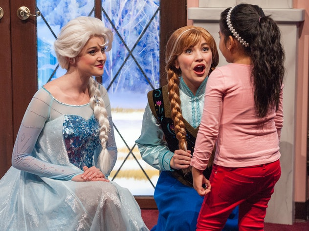 Quotes from 'Frozen' are ideal for using as Instagram captions for your kid's first Disney trip.