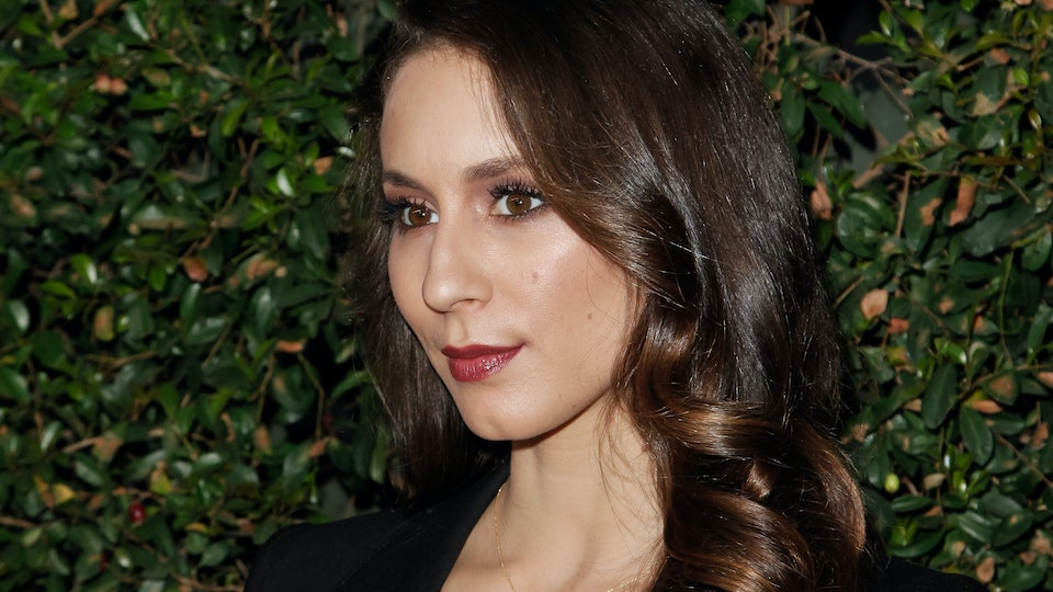 Troian Bellisario clears up the meaning behind her daughter's name.
