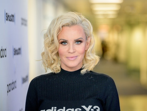 """'The Masked Singer' judge Jenny McCarthy revealed why celebrities go on the Fox show, during SiriusXM's """"Dial Up the Moment"""" campaign launch in NYC."""