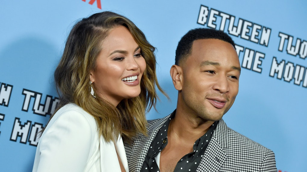 Chrissy Teigen and John Legend are total couple goals