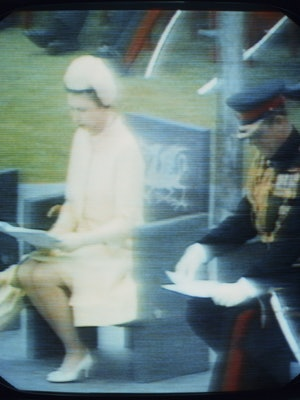 Queen Elizabeth and Prince Philip.