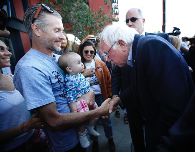Sen. Bernie Sanders is a 2020 Democratic candidate who supports providing workers with up to six months in paid family leave.