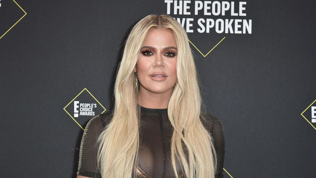 Khloe Kardashian attends the People's Choice Awards.