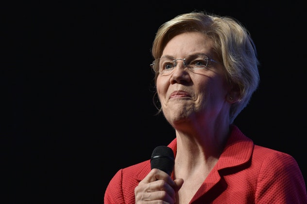 Sen. Elizabeth Warren is among the 2020 Democratic candidates that have called for providing workers with up to 12 weeks of paid family leave.