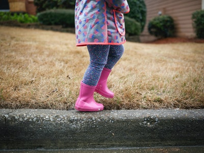 Your child's love of rain boots is really about their love of exploring and play.