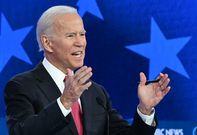 Former Vice President Joe Biden is one of the 2020 Democratic candidates who supports paid family leave.