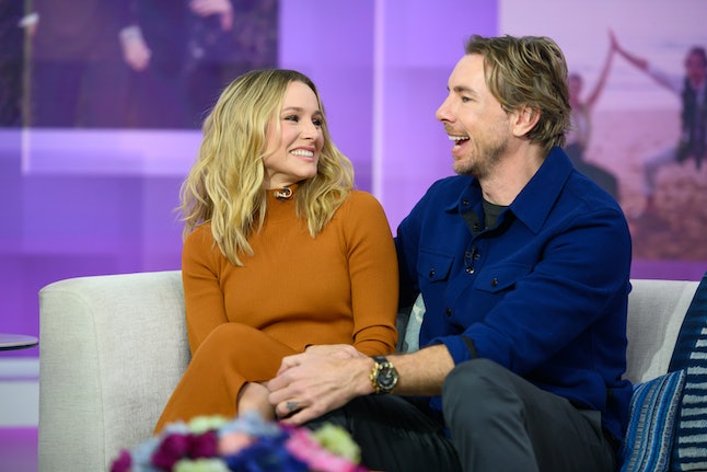 """Kristen Bell & Dax Shepard had """"no sparks whatsoever"""" when they first met"""