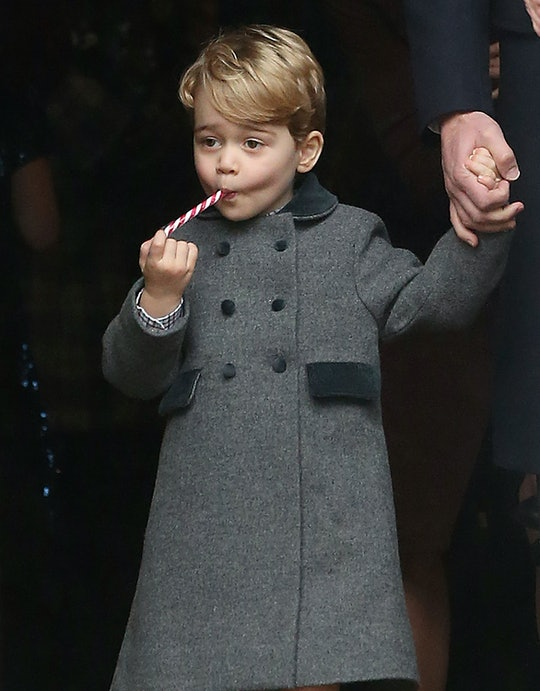 Evidence suggests Prince George and Princess Charlotte believe in Santa Claus.