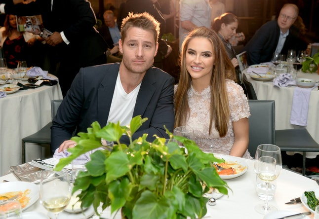 'This Is Us' star Justin Hartley filed to divorce wife Chrishell Stause after two years of marriage.
