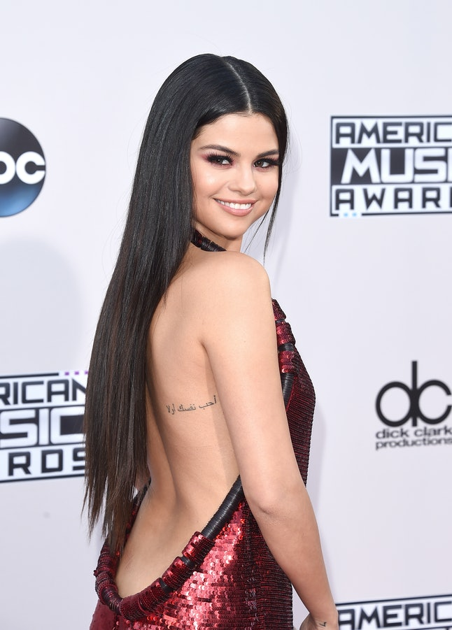 Selena Gomez's thigh tattoo may be her most recent, but it's not her only piece of ink.