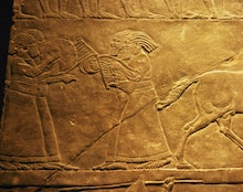 Ashurbanipal, last major ruler of the Assyrian Empire, couldn't outrun the effects of climate change...