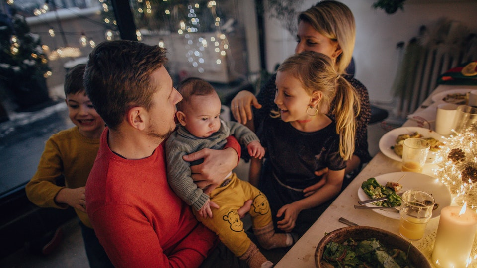 Your baby's first Thanksgiving will be full of magical moments to share on Instagram.