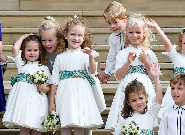 Princess Charlotte & Prince George really come alive when cousin Savannah is around.