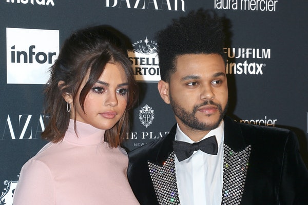 Selena Gomez and The Weeknd hit the red carpet arm-in-arm.