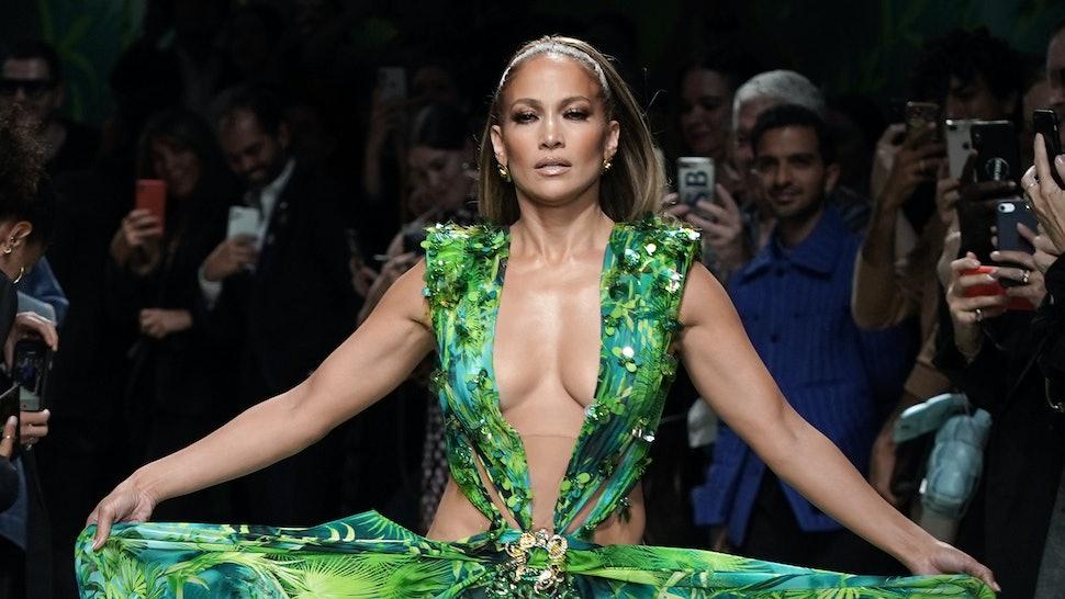 Versace is suing Fashion Nova for recreating Jennifer Lopez's Grammy dress.