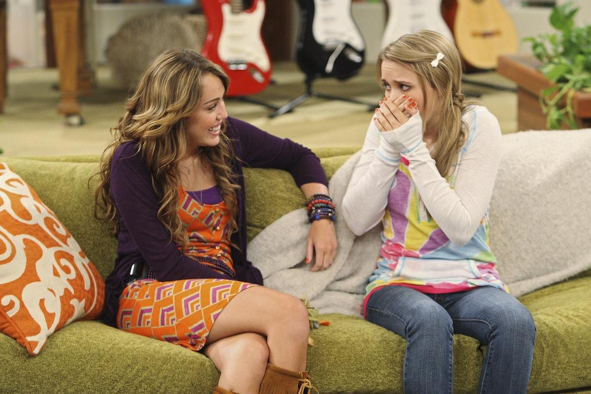 Miley Cyrus & Emily Osment on 'Hannah Montana'