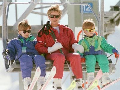 Princess Diana's ski attire will inspire your own winter getaway