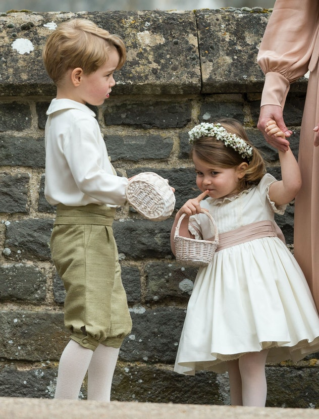 Prince George and Princess Charlotte stole the show at aunt Pippa Middleton's wedding in 2017.