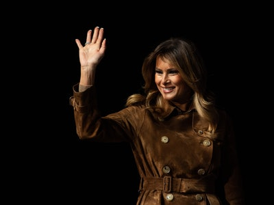 First Lady Melania Trump was booed by students in Baltimore on Tuesday while speaking at a youth summit.